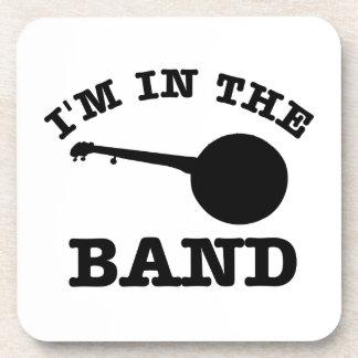 私はバンドバンジョーのデザインにあります コースター