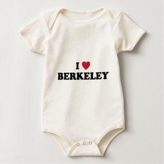 私はバークレーカリフォルニアを愛します ベビーボディスーツ
