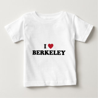 私はバークレーカリフォルニアを愛します ベビーTシャツ
