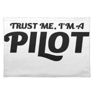 私はパイロットです ランチョンマット