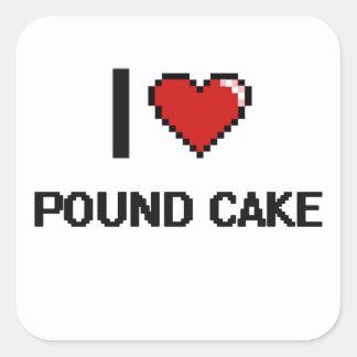 私はパウンドケーキを愛します スクエアシール