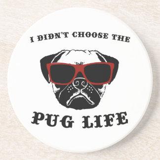 私はパグの生命カッコいい犬を選びませんでした コースター