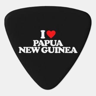 私はパプアニューギニアを愛します ギターピック