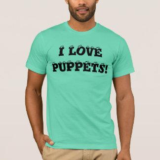 私はパペットを愛します! Tシャツ