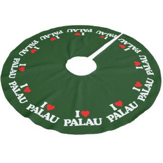 私はパラオ諸島を愛します ブラッシュドポリエステルツリースカート