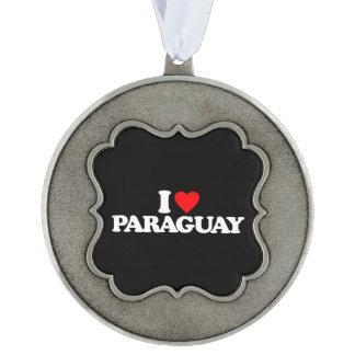 私はパラグアイを愛します オーナメント