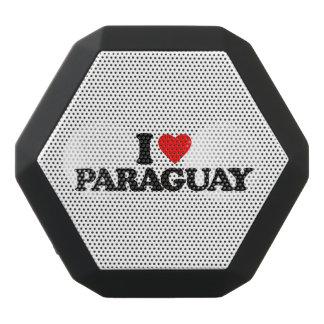 私はパラグアイを愛します ブラックBluetoothスピーカー