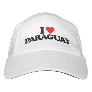 私はパラグアイを愛します ヘッドスウェットハット