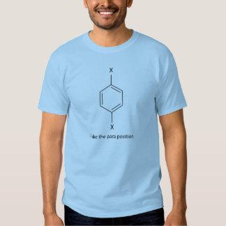 私はパラグラフの位置を好みます Tシャツ