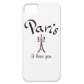私はパリを愛します iPhone SE/5/5s ケース
