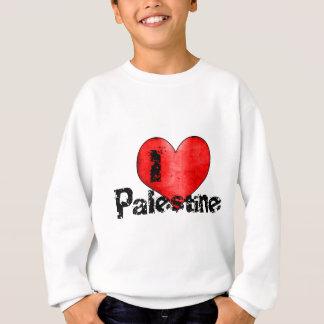 私はパレスチナを愛します スウェットシャツ