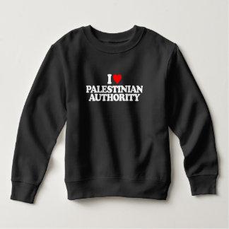 私はパレスチナ自治政府を愛します スウェットシャツ