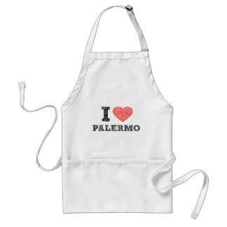 私はパレルモを愛します スタンダードエプロン