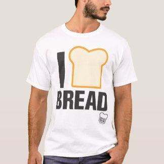 私はパンを愛します Tシャツ