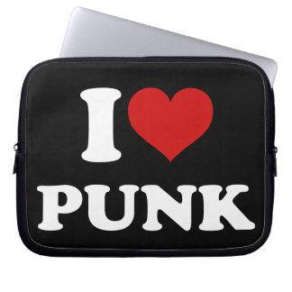 私はパンクを愛します ラップトップスリーブ