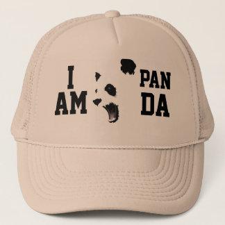 私はパンダのトラック運転手の帽子です キャップ