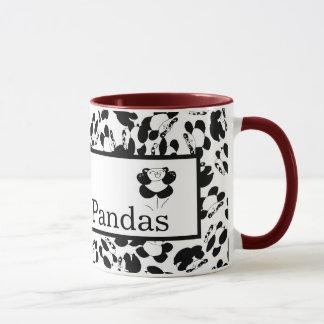私はパンダを愛します マグカップ