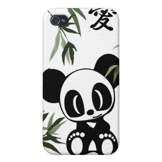 私はパンダを愛します iPhone 4/4S カバー