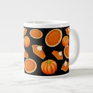 私はパンプキンパイのジャンボマグを愛します ジャンボコーヒーマグカップ