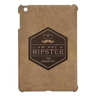 私はヒップスターの100%保証されたおもしろいな髭ではないです iPad MINI CASE