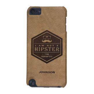 私はヒップスターの100%保証されたおもしろいな髭ではないです iPod TOUCH 5G ケース