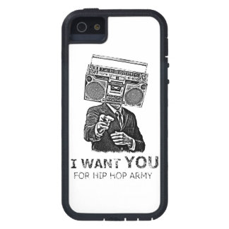私はヒップホップの軍隊のためのほしいと思います iPhone SE/5/5s ケース