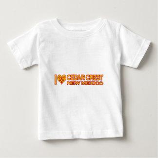私はヒマラヤスギの頂上、NMを愛します ベビーTシャツ