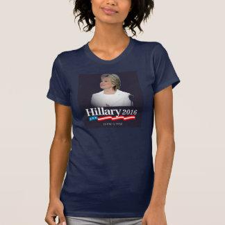 私はヒラリー2016年とあります Tシャツ