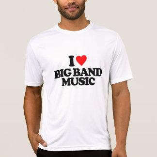 私はビッグバンド音楽を愛します Tシャツ