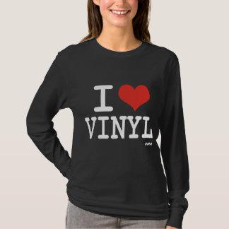 私はビニールを愛します Tシャツ