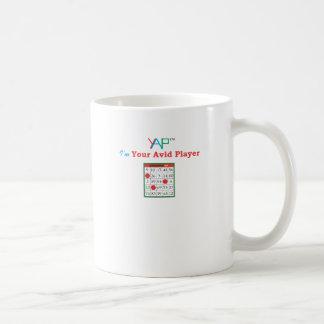 私はビンゴのあなたの熱心なプレーヤーです コーヒーマグカップ