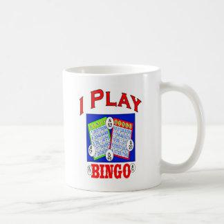 私はビンゴのロゴを遊びます コーヒーマグカップ
