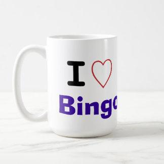 私はビンゴを愛します コーヒーマグカップ