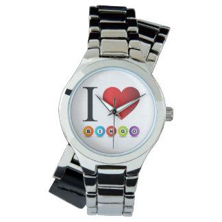 私はビンゴを愛します 腕時計