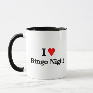 私はビンゴ夜を愛します マグカップ