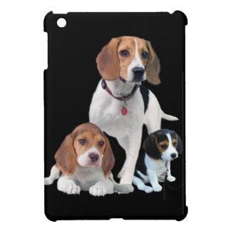 私はビーグル犬を愛します iPad MINIケース