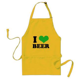 私はビールを愛します スタンダードエプロン