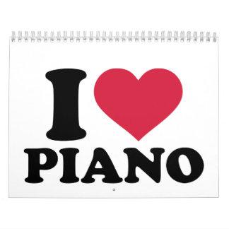 私はピアノを愛します カレンダー