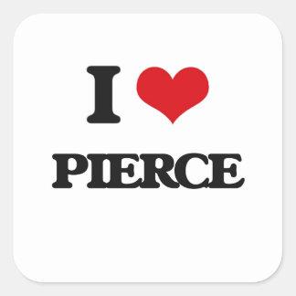 私はピアースを愛します スクエアシール