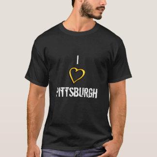 私はピッツバーグのティーを愛します Tシャツ