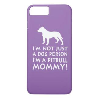 私はピットブルのお母さんです iPhone 8 PLUS/7 PLUSケース