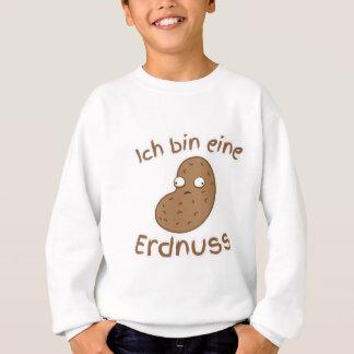 私はピーナツドイツ人翻訳です スウェットシャツ