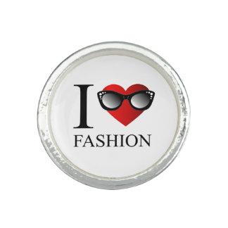 私はファッションを愛します リング