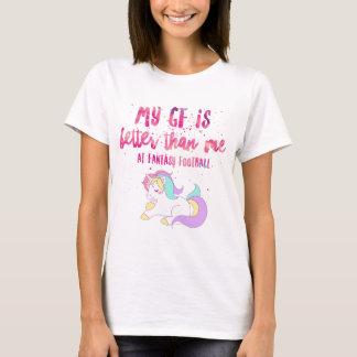 私はファンタジーのフットボールの短い袖のユニセックスなTSで吸います Tシャツ