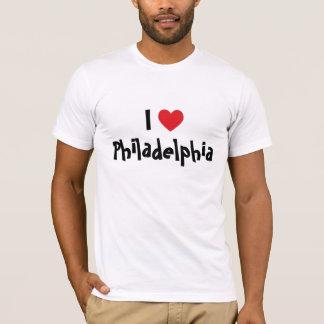 私はフィラデルヒィアを愛します Tシャツ