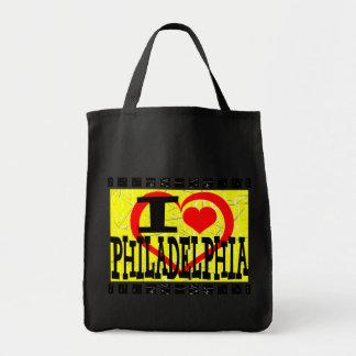 私はフィラデルヒィア-     バッグ--を愛します トートバッグ