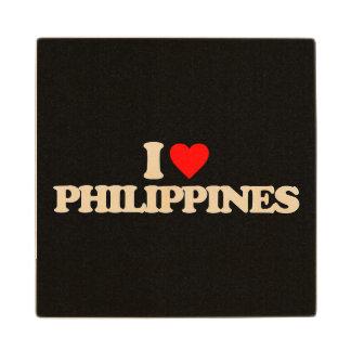 私はフィリピンを愛します ウッドコースター