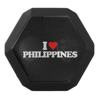 私はフィリピンを愛します ブラックBluetoothスピーカー