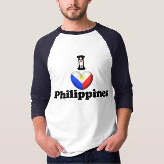 私はフィリピンを愛します Tシャツ