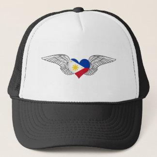 私はフィリピン-翼--を愛します キャップ
